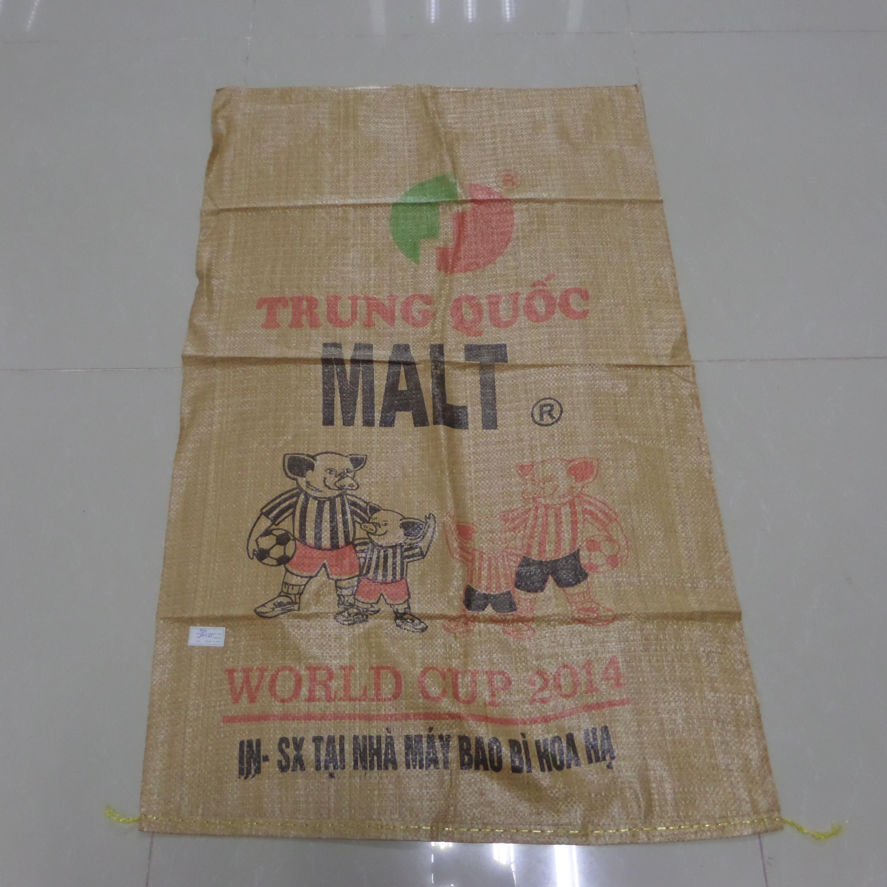 Bao vàng in 4 Gấu Kt 65 x105 /45g/m2