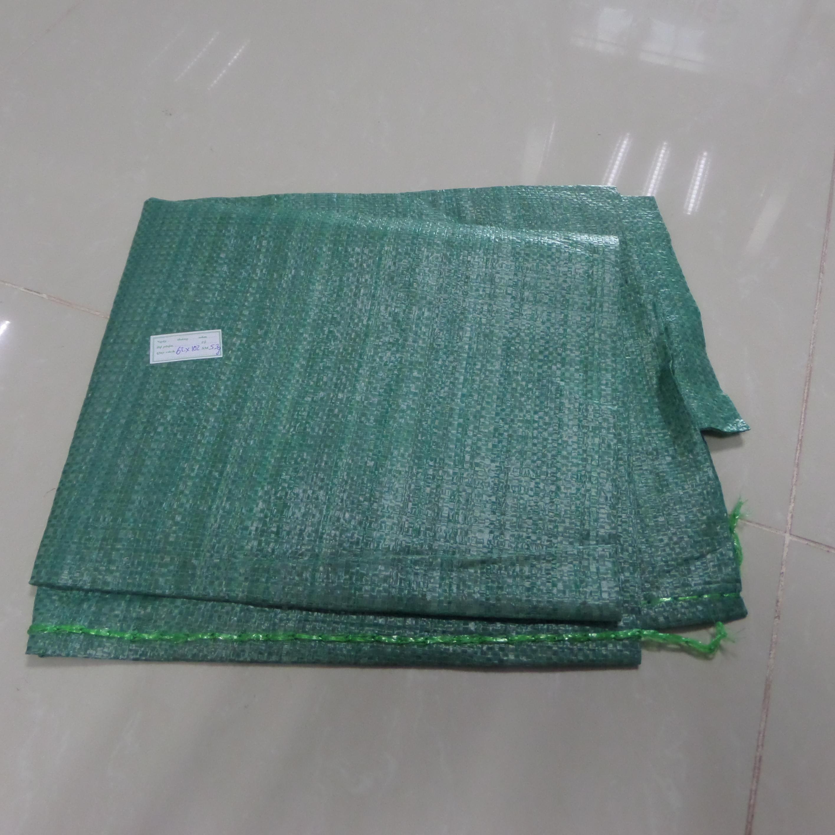 Bao xanh cốm Kt 70 *120 / 53 (g/m2)