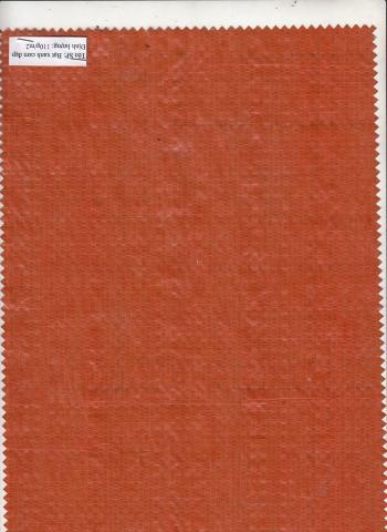 Bạt Xanh cam Đẹp Đinh lượng 110 g/ m2